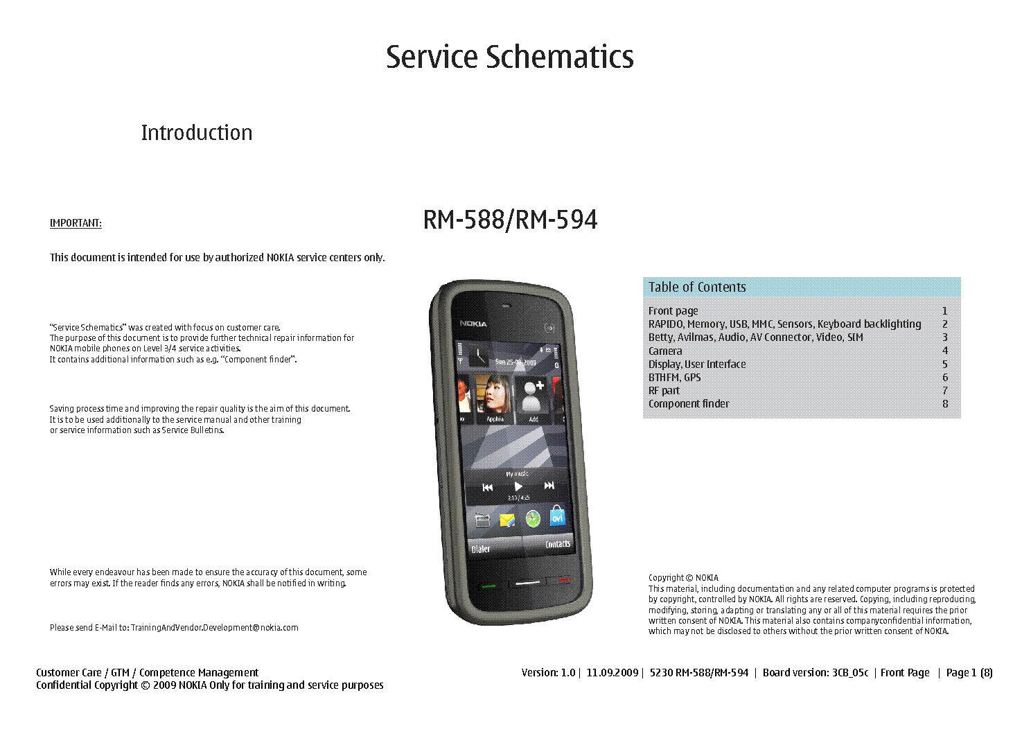 nokia 5230 rm 588 rm 594 schematics sch service manual download rh elektrotanya com Nokia 5320 Nokia 5210